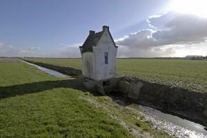 foto Kees van der Veer Het pomphuisje aan de Hoofdvaart tussen Nieuw Vennep en Hoofddorp